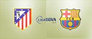 Атлетико Мадрид : Барселона